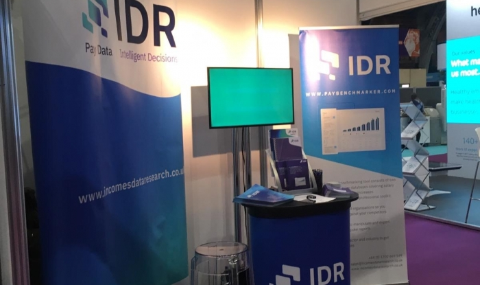 IDR's CIPD stand